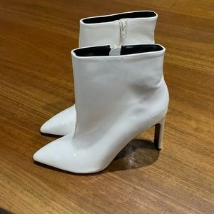 White booties